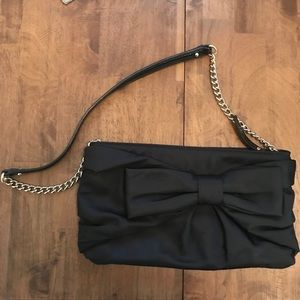 Kate Spade Bow Purse with Gold Chain